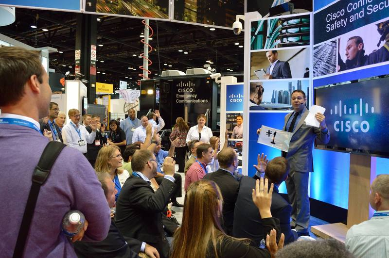 Trade show magicians, presenters, speakers and hosts for corporate conferences and conventions gather a crowd and are your brand ambassadors
